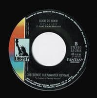 CREEDENCE CLEARWATER REVIVAL Sweet Hitch-Hiker Vinyl Record 7 Inch Japanese Liberty 1971